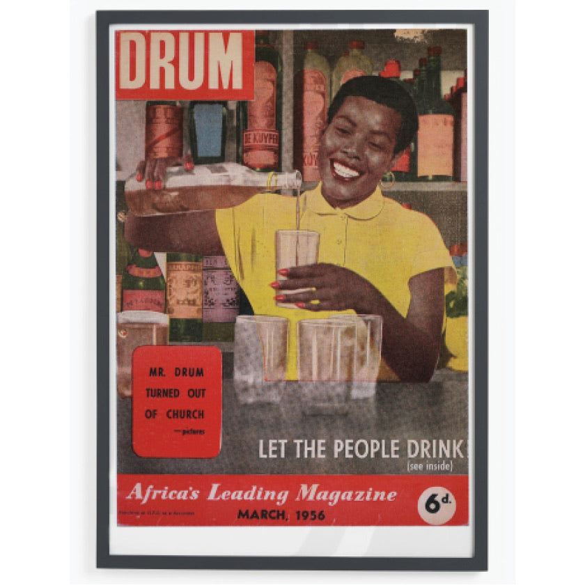 Drum Cover: Let the People Drink