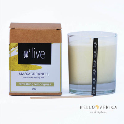Massage Candle : Lemongrass