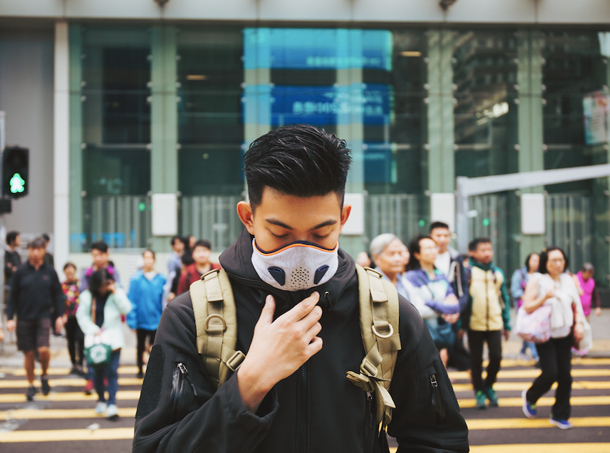 anti pollution masks akmon concept