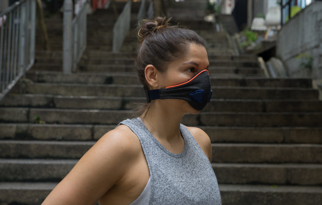review akmon pollution mask