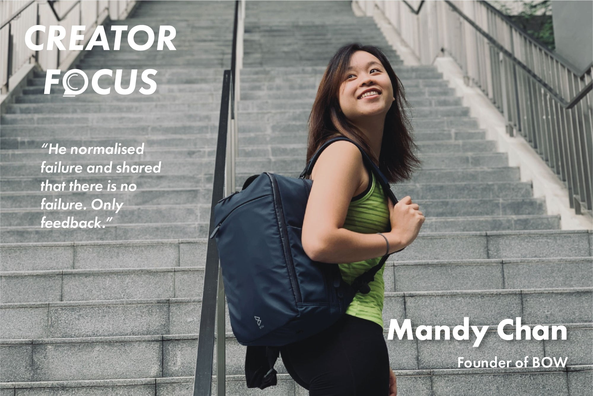 Creator Focus: Interview with Mandy Chan