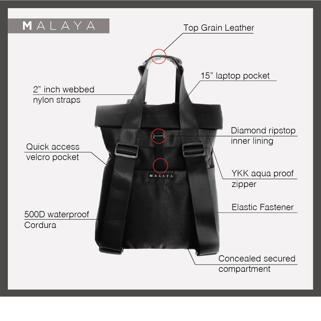 We The People - Malaya Bag Product Description
