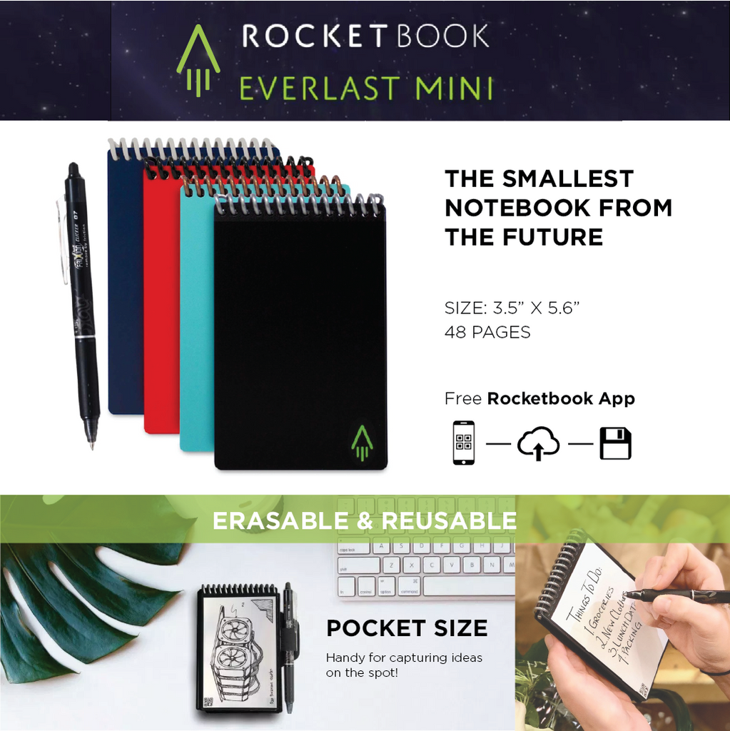 Rocketbook Mini Features
