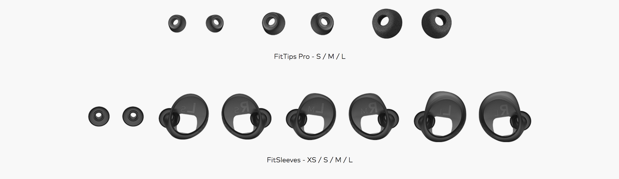 Bragi Dash Pro Ear Sleeves Description