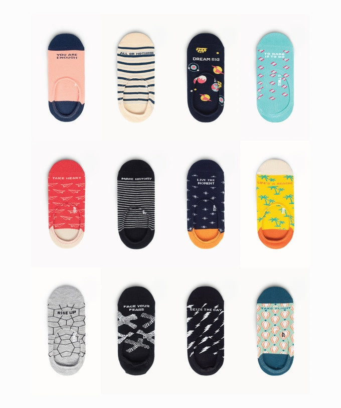 Talking Toes V2.0 - Colors and Designs Chart