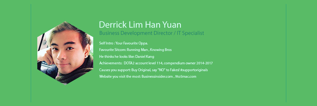 We The People - Derrick Lim Han Yuan - Business Development Director / IT Specialist