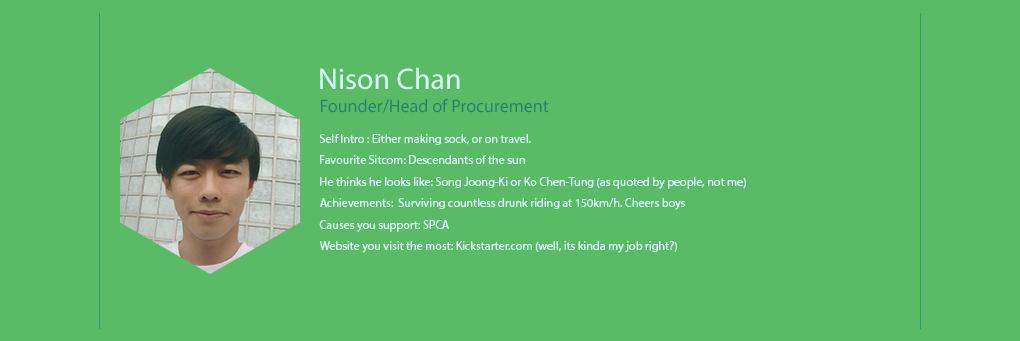 We The People - Nison Chan - Founder / Head Of Procurement
