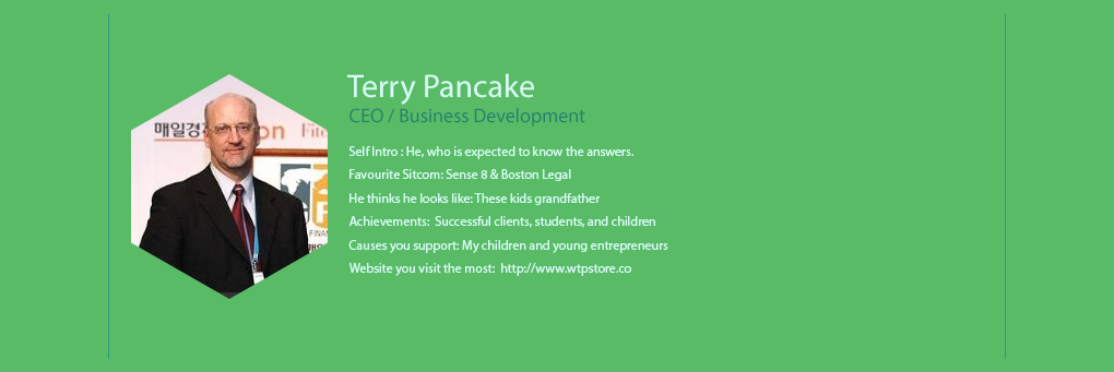 We The People - Terry Pancake - CEO / Business Development