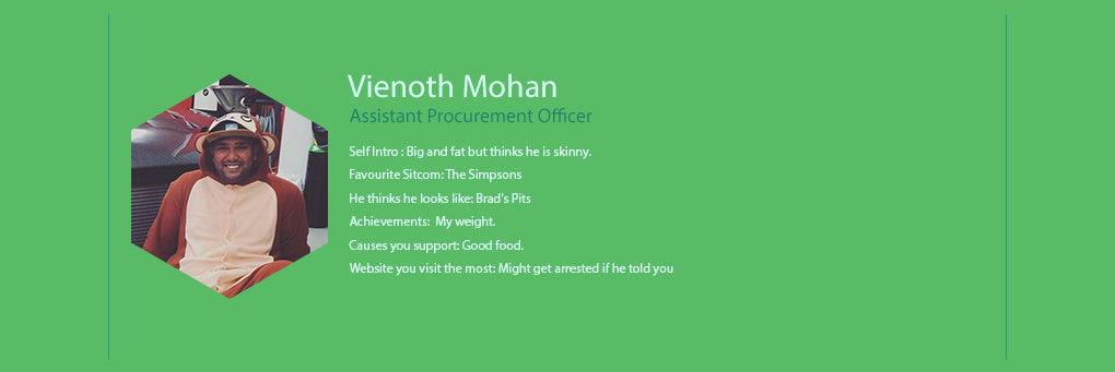 We The People - Assistant Procurement Officer - Vienoth Mohan