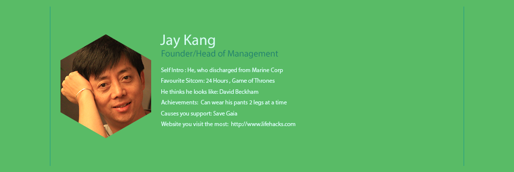 We The People - Head Of Management Founder - Jay Kang