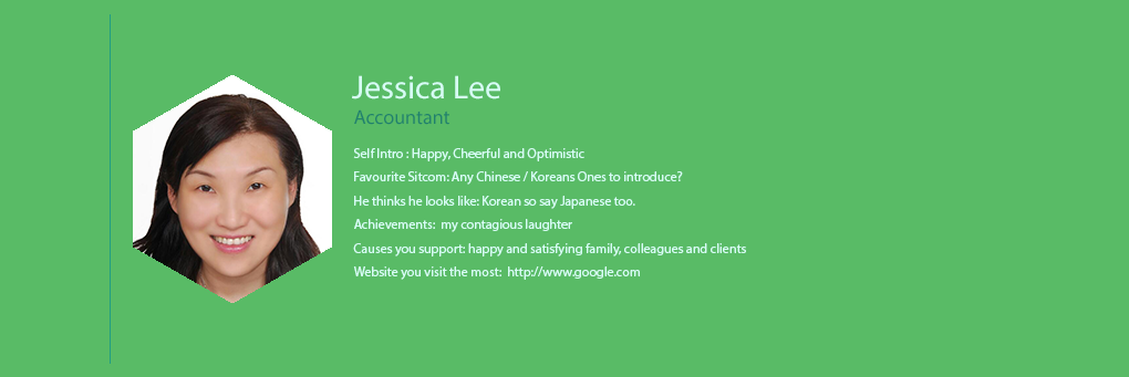 We The People - Jessica Lee - Accountant