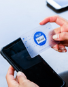 Blue Smart Card™ - The Business Card Reinvented - Single