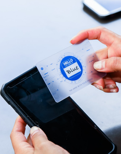Blue Smart Card™ - The Business Card Reinvented