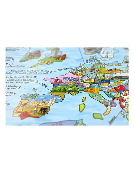 We the people awesome maps illustrated world map posters awesome maps illustrated world map posters canvases gumiabroncs Gallery