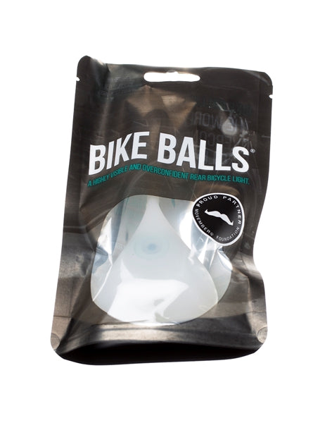 Bike Balls - the World's Most Overconfident Bicycle Light