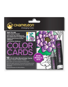 Chameleon Coloring Cards