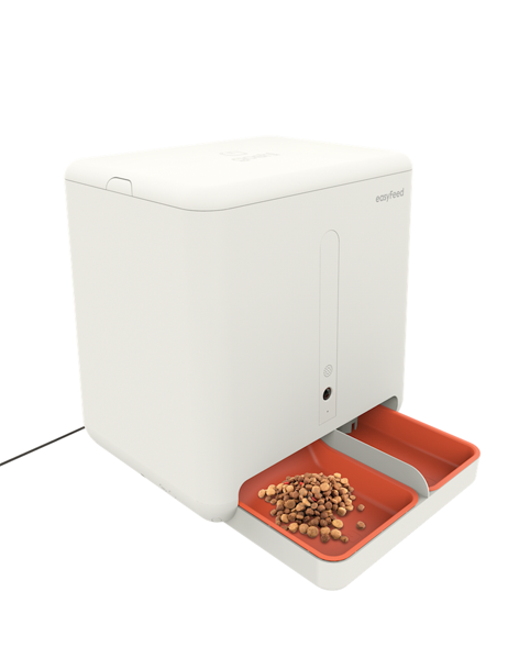 easyFeed - The World's First Food & Water Remote Feeder