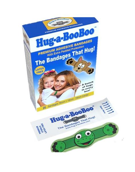 Hug-a-BooBoo - Children Bandages with a twist!