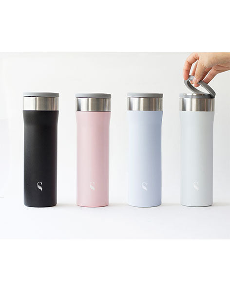 Kokoro Thermal Flask: Solid Porcelain Interior