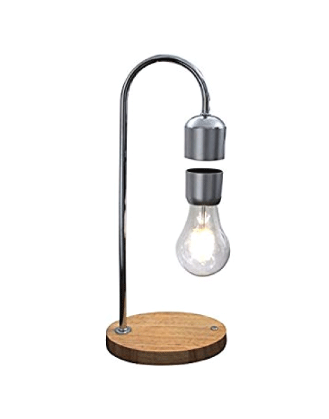 Levitating Lamp - Magnetic levitating light bulb table lamp