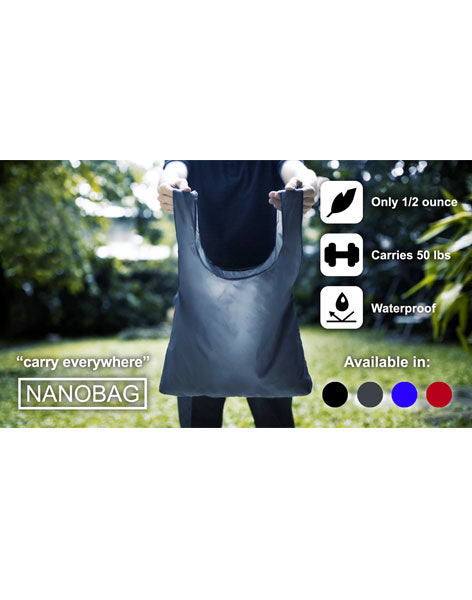 "Nanobag - The ultimate ""carry everywhere"" bag"