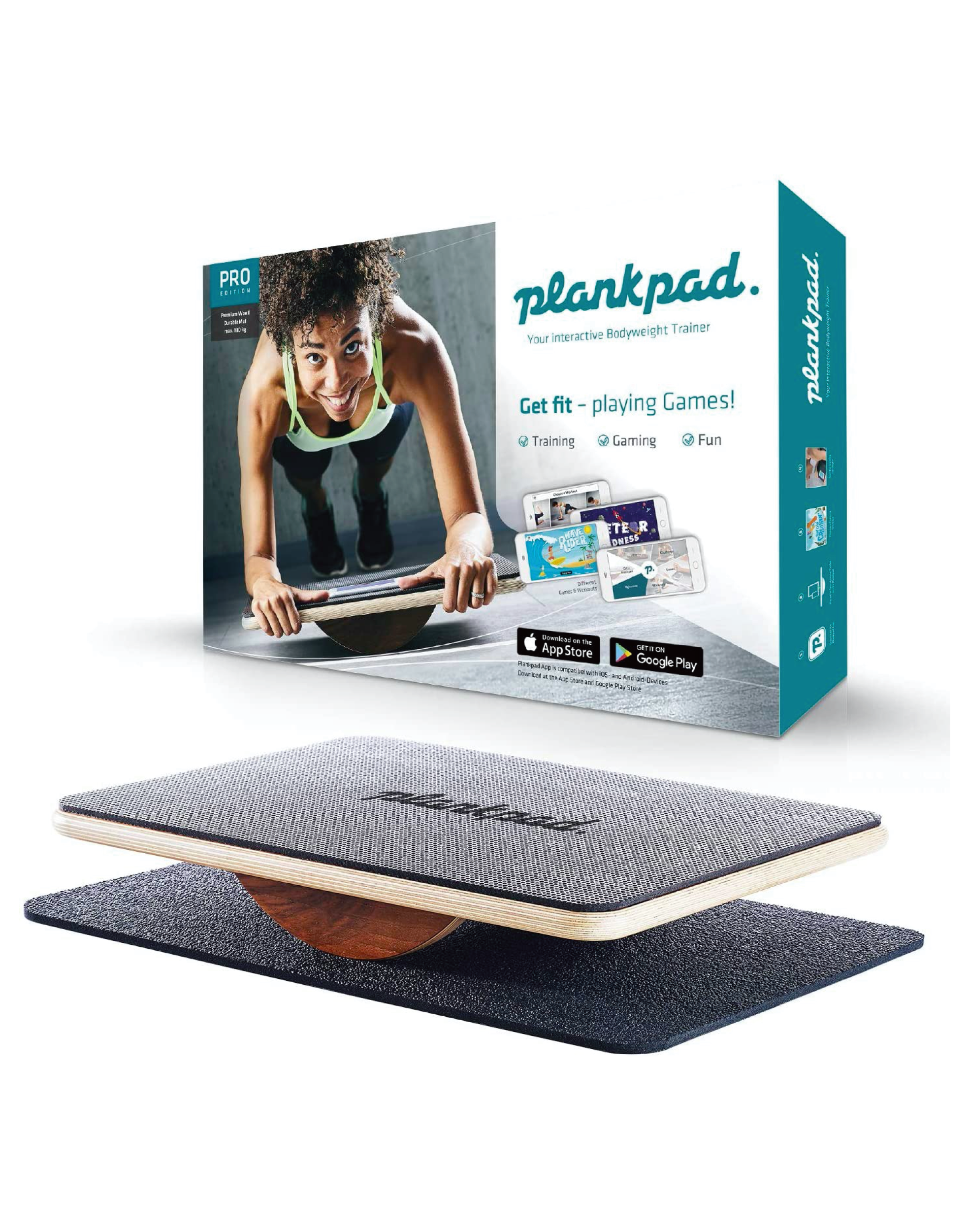 Plankpad: Interactive Bodyweight Trainer