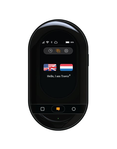 Travis Touch Plus - The ultimate pocket translator.