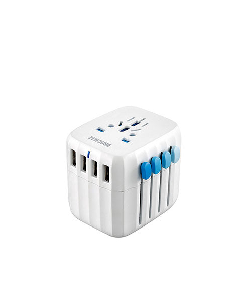 Zendure Passport - The World's First Fail-Safe Global Travel Adapter