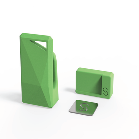 Stikey - A Magnetic Portable Stand & Cable Tidy on your keys