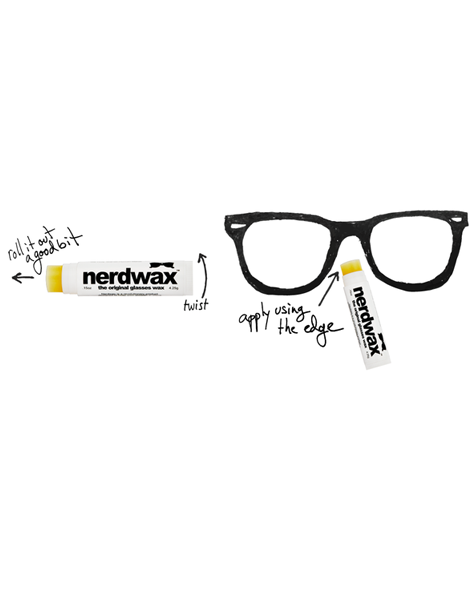 Nerdwax - Say No More to Slipping Glasses!