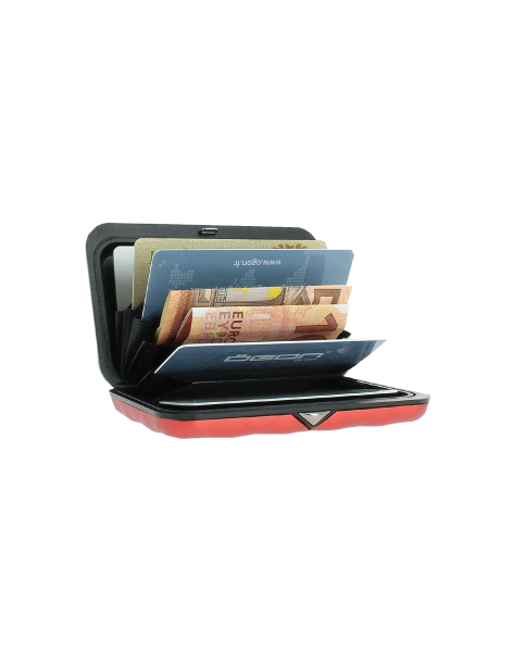 Ogon Smart Wallets: Quilted Button Card Case Wallet