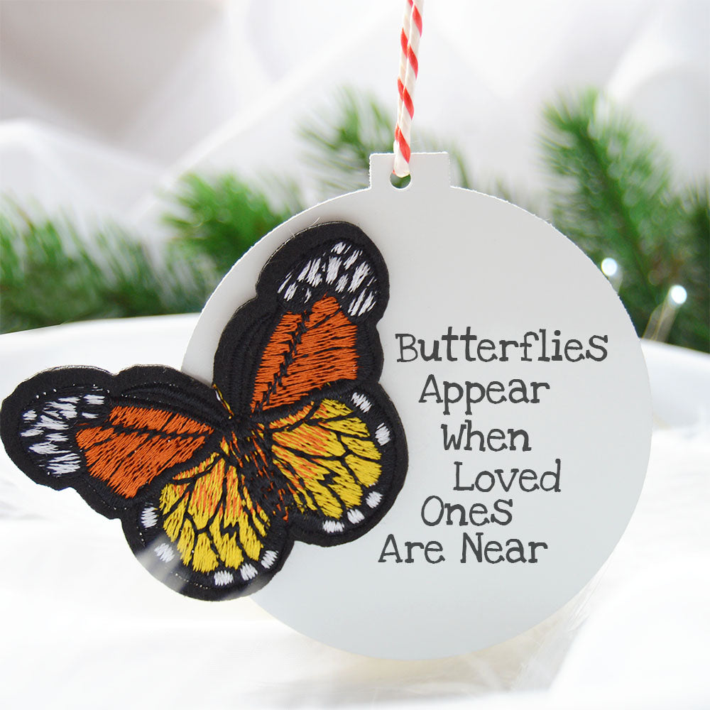 Butterflies Appear When Loved Ones Are Near