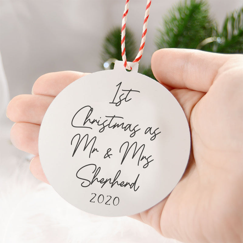 Our 1st Christmas As Mr and Mrs
