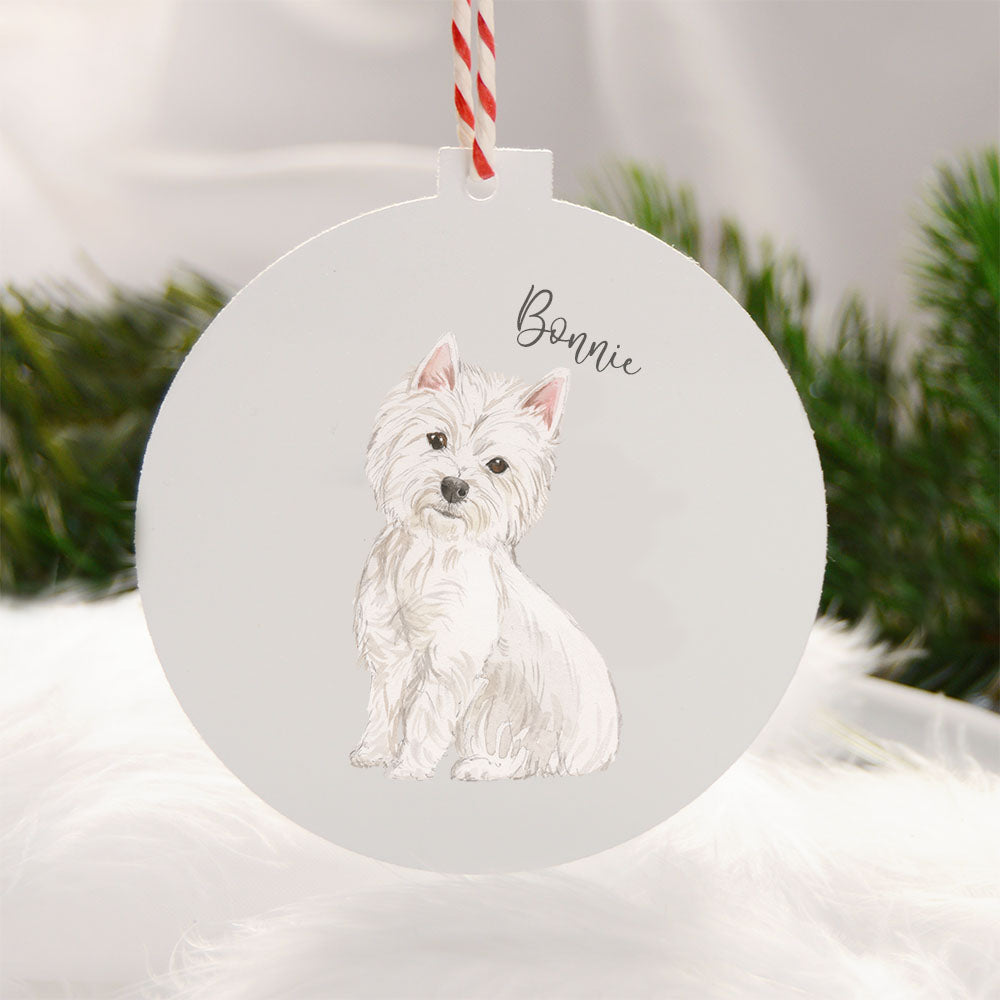 Christmas Dog Ornaments {{ ALL BREEDS }}