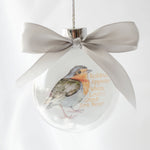 Load image into Gallery viewer, Robins Appear When Loved Ones Are Near Ornament