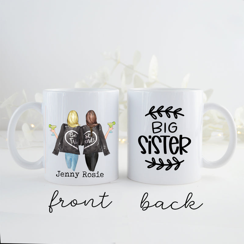 TheGreenDovecote _ Personalised Mug - Big Sister