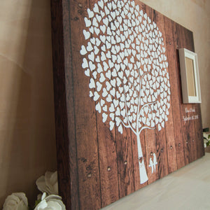 Wedding Guest Book Signature Tree