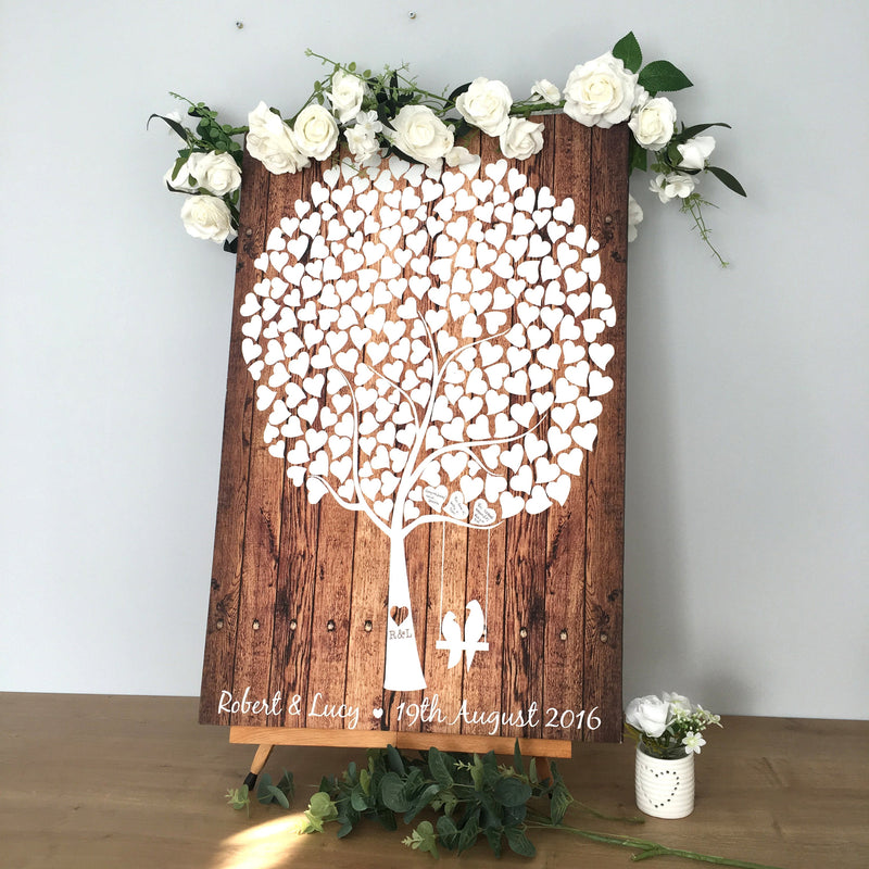 Guest Book Canvas Sign