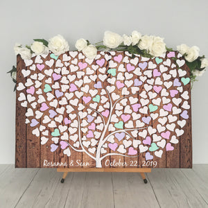 Personalized Signature Guestbook Canvas