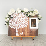 Load image into Gallery viewer, Rustic Wedding Guest Book