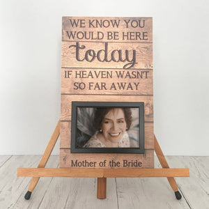 Grieving Mother Memorial Photo Frame