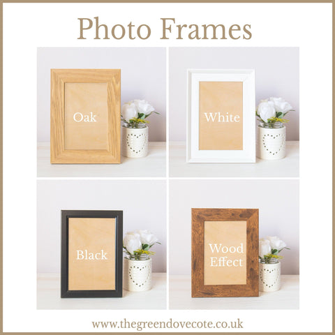 Personalized Wedding Frame From Bride