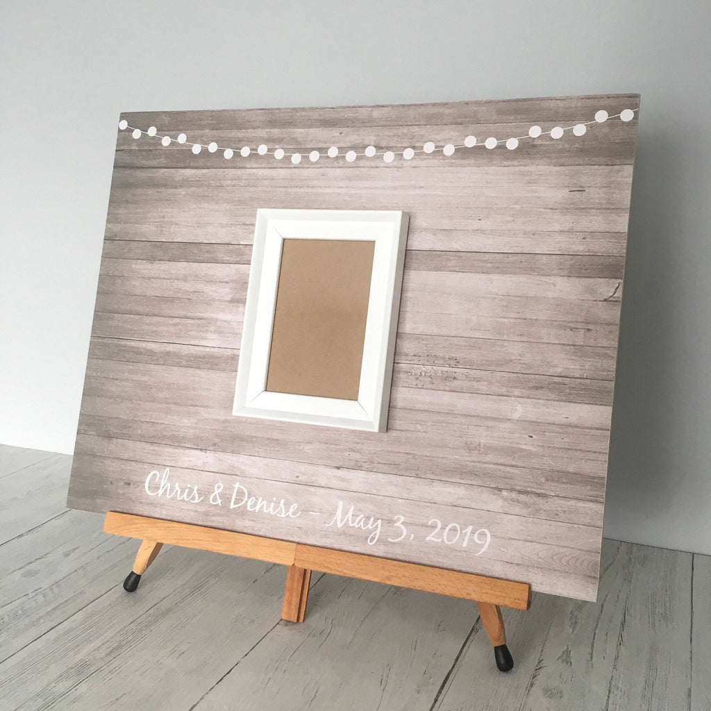 Signature Frame For A Wedding Guestbook