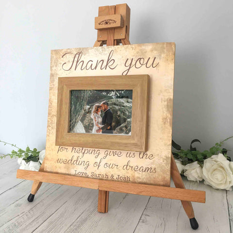 Personalized Frame For Mother Of The Bride
