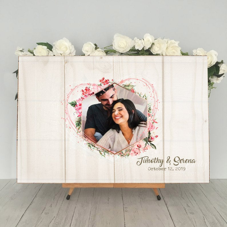 Photo Wedding Guest Book