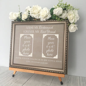 Personalised Maid Of Honour Wedding Gift