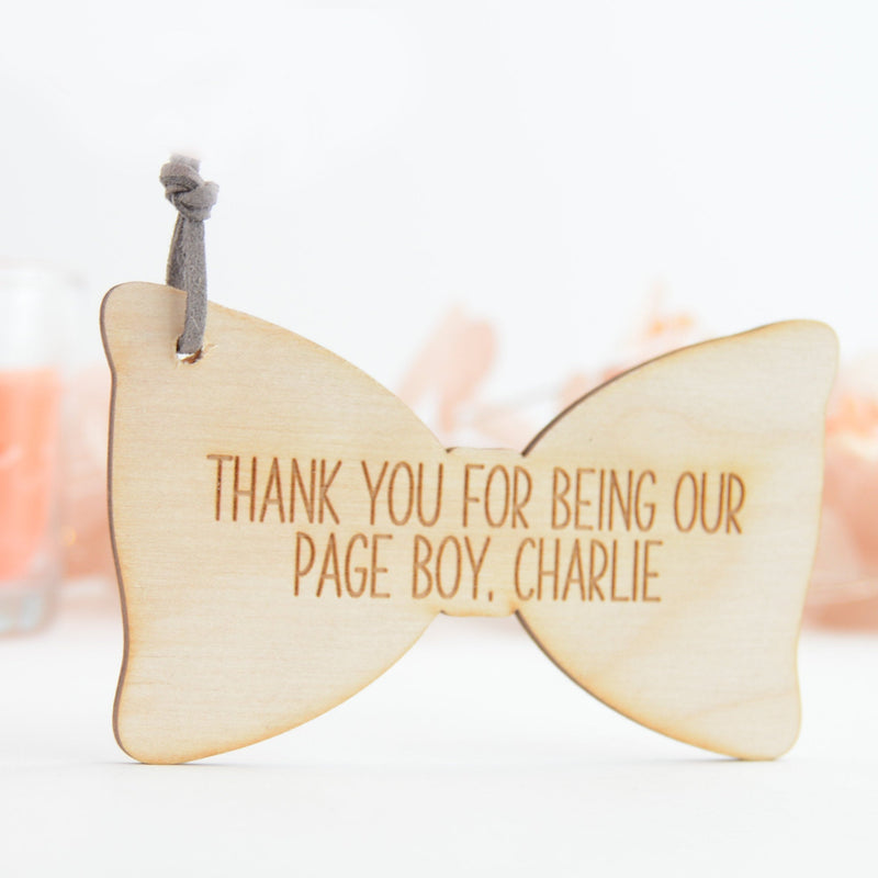 Page Boy Wedding Gift