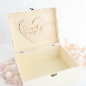 Wedding Card Box With Clasp