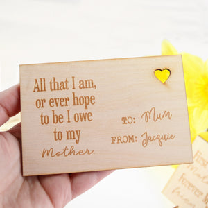 Unique Mother Of The Bride Gift