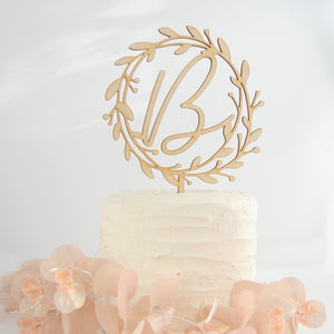 Surname Wedding Topper For Cake